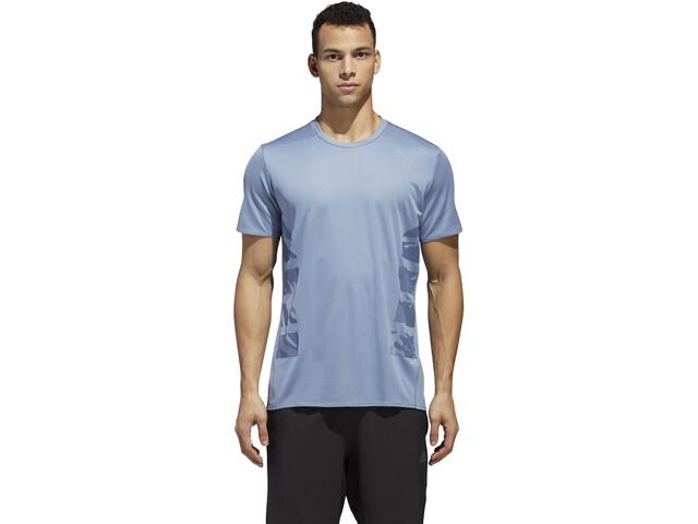 d3182989efb21 adidas Supernova Running T-shirt Men blue at Bikester.co.uk